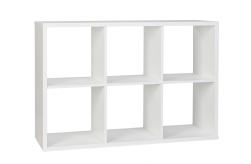 Cubo Bookcase Assembled White W1195Xd395Xh805
