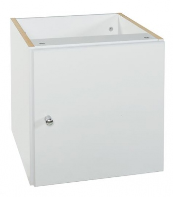 Cubo Door Box White Front 370X385X370H