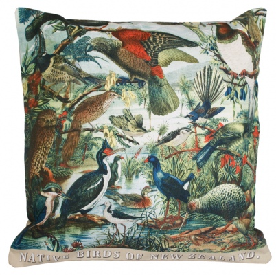 Prestige Native Birds Of Nz Cushion 45X45Cm