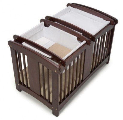 Cariboo Classic Cot-Top Changer Espresso Stain Nz