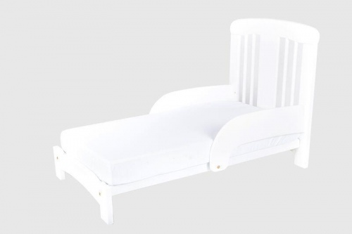 Cariboo Contemporary Toddler Bed Conversion White