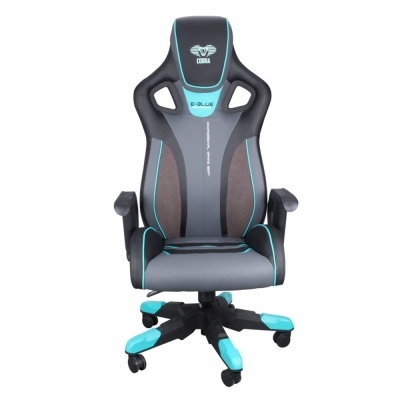 E-Blue Cobra Gaming Chair Large Blue