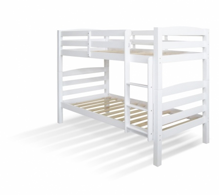 Coleridge Single Bunk White Stain