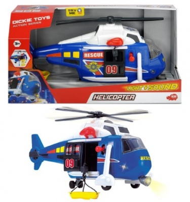 Dickie Rescue Helicopter 41Cm Light And Sound