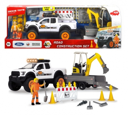 Dickie Playlife Construction Set 41Cm Lights N Sou