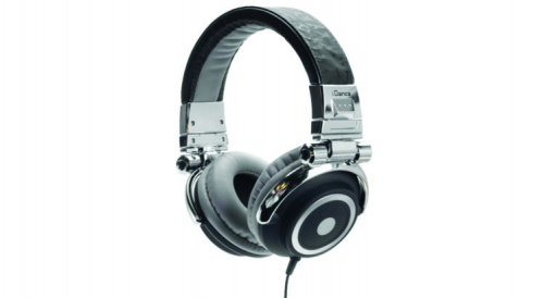 Idance Disco Series Headphones Black & Silver