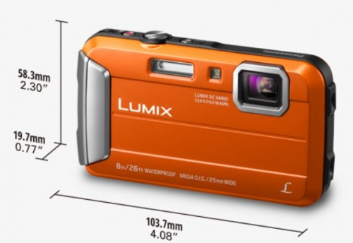Panasonic Tough Digital Still Camera Orange