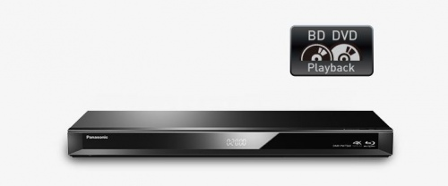 Panasonic Blu-Ray With Hdd Recorder Myfreeview