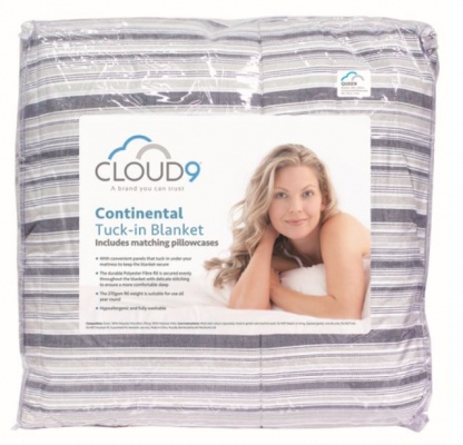 Cloud 9 Dottie Continental Blanket Super King
