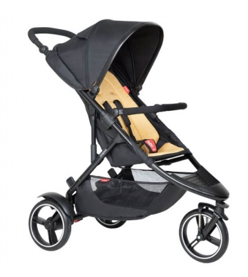 Phil & Teds Dot Buggy With Butterscotch Liner