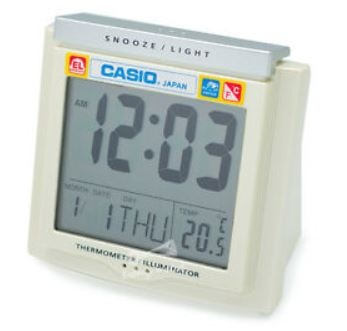 Casio Travel/Desk Clock