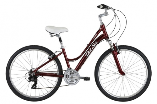 Del Sol Lxi 6.1 Shiny Ruby 17 Inch Urban Bike