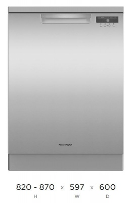 F&P Standard C2 15 Place Dishwasher 870X597X600