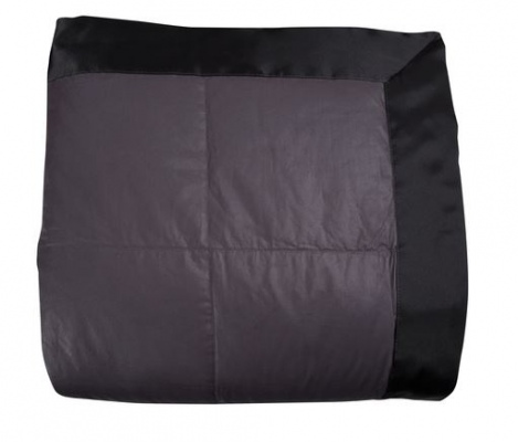 Eden Cafe Blanket Queen Charcoal 230X240Cm