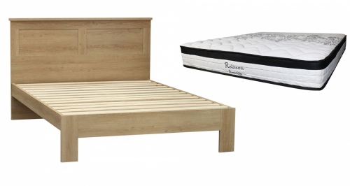 Euro Single Slat Frame + Pocket Spring Mattress