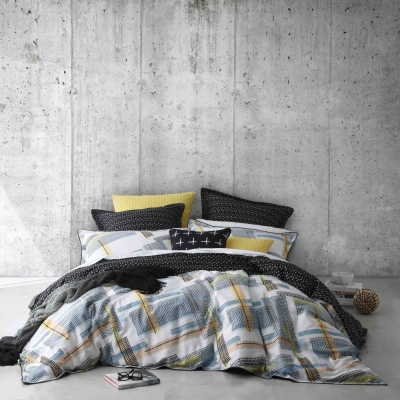 Ltd Easton Grey King Duvet Cover Set