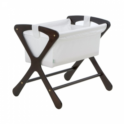 Cariboo Classic Bassinet Espresso Nz Made