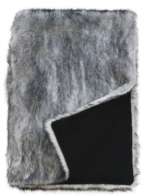 Heirloom Arctic Fox Acrylic Throw 150X180Cm
