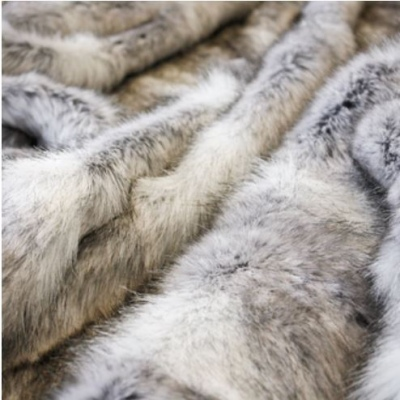 Heirloom Grey Coyote Acrylic Throw 150X180Cm
