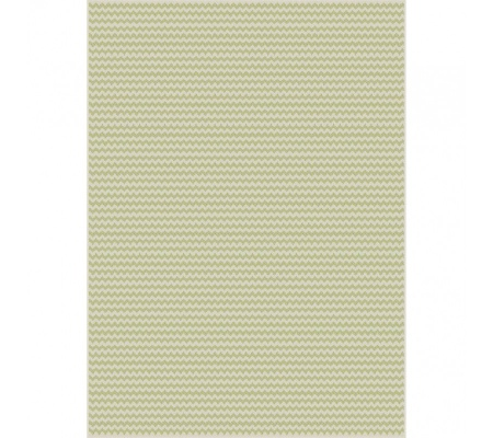 Breeze Outdoor Rug Green Zigs 1.6X2.3M Polyprop