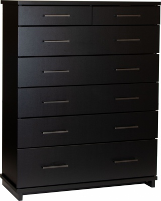 Fox 7 Draw Tallboy Black W/Gunmetal Handles