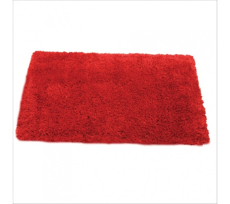 Serenity Venetian Red Chunky Shaggy 2.2X1.5M