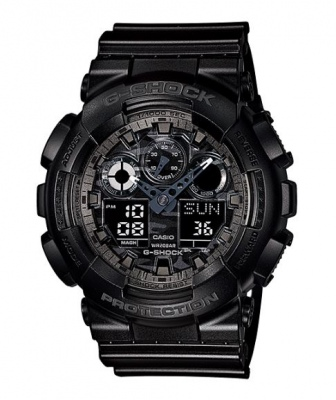 G Shock Black Black Analogue Watch