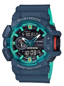 G Shock Blue Accent Series Analogue Watch