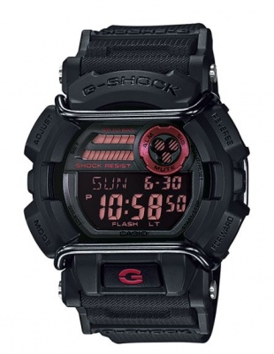 G Shock Black Red Digital Watch