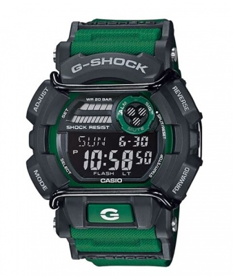 G Shock Green Black Digital Watch