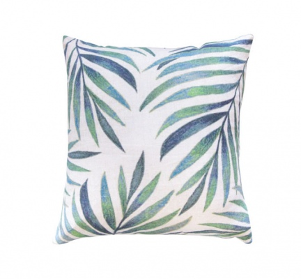 Botanical Fern Cushion Green 45X45Cm
