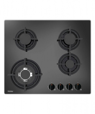 Haier Cooktop Gas 4 Burner Glass H50X580X500