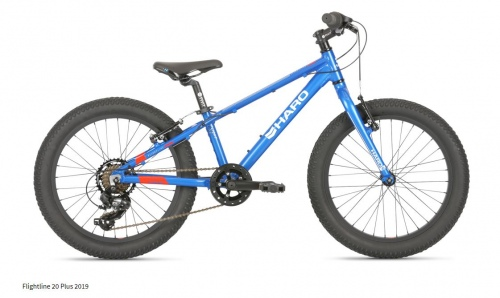 Haro Flightline 20 Plus Sg Bright Blue