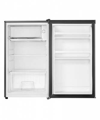 Haier Bar Fridge 115LT Stainless 833X490X555.5