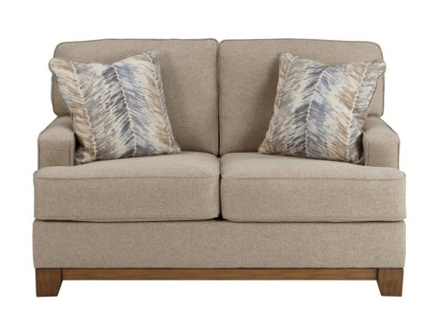 Hillsway 2 Seater IN Pebble Fabric