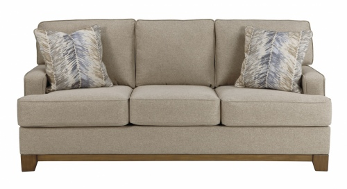Hillsway 3 Seater In Pebble Fabric