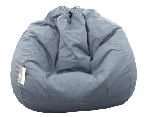 Jumbo Premium Grey 500Lt Outdoor Beanbag Filled