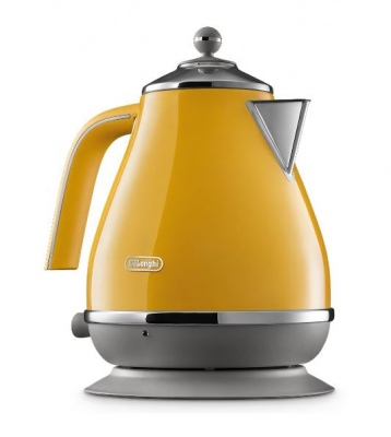 Delonghi Capitals Kettle  New York Yellow
