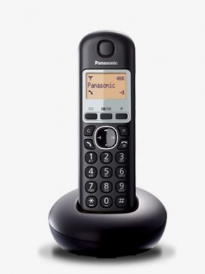Panasonic Cordless Telephone Single Black