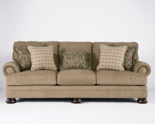 Keereel 3 Seater In Taupe Fabric