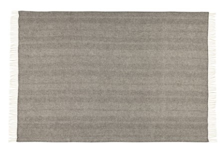 Lindis Forest 100% Wool Throw 140X240Cm