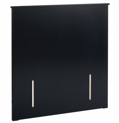 Mayson Queen Headboard Black 1600X48X1090H