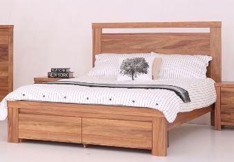 Milford King Slatbed Blackwood Veneer 1700X2060