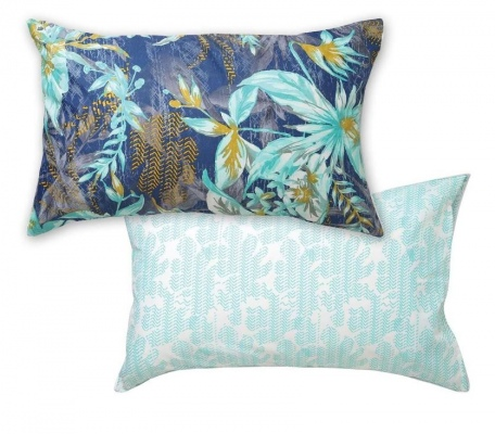 L&M Moana Teal Queen Duvet Cover Set