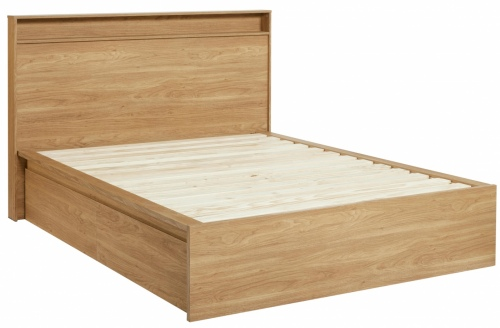Moda Underbed Storage 1Dr Honey Walnut 1010X530X30