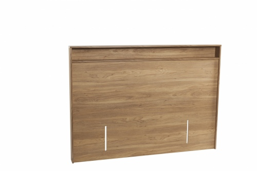 Moda Queen Headboard Honey Walnut 1170X1716X124