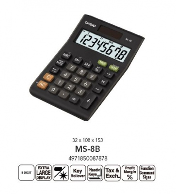 Casio Desktop Tax Calculator