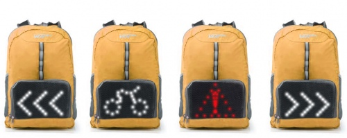 Vup + Led Indicator Backpack With Remote Orange