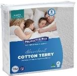 Cotton Terry Super King Waterproof Mattress Protec