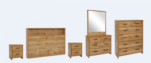 Nova 5Pc Bedroom Suite With King Headboard Nz Made